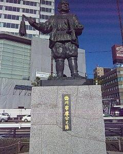静岡駅前に徳川家康像!?