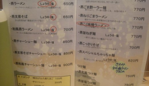 燕【4】( 島田市 ) ≪本枯節冷やし麺≫