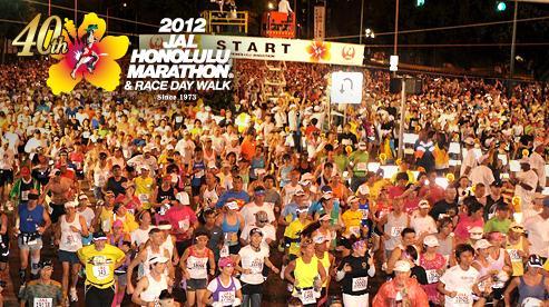 ホノルルマラソン2012に挑戦するよ!!!