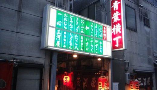 三河屋(みかわや)( 静岡市葵区 ) ~青葉横丁で幸せな一杯☆~