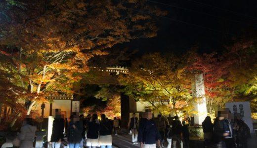 京都紅葉名所めぐり2012 ~もみじの永観堂ライトアップ~