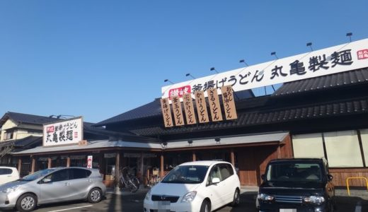 釜揚げうどん 丸亀製麺 藤枝店( 藤枝市 ) ~とろ玉うどん(温) 550円~