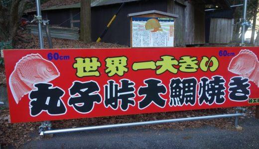 丸子峠鯛焼き屋( 静岡県静岡市駿河区 ) ~世界一大きい鯛焼き 3300円~