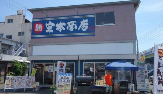 宮本商店( 静岡県静岡市清水区 ) ~本日の日替わり生本鮪丼☆~