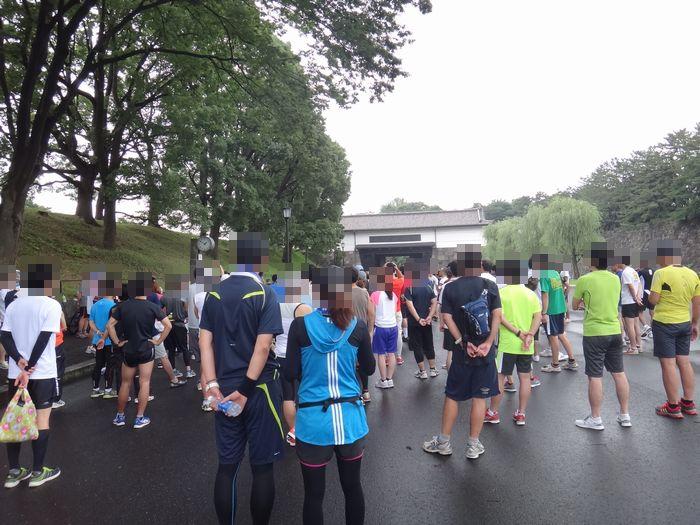 皇居マラソン6