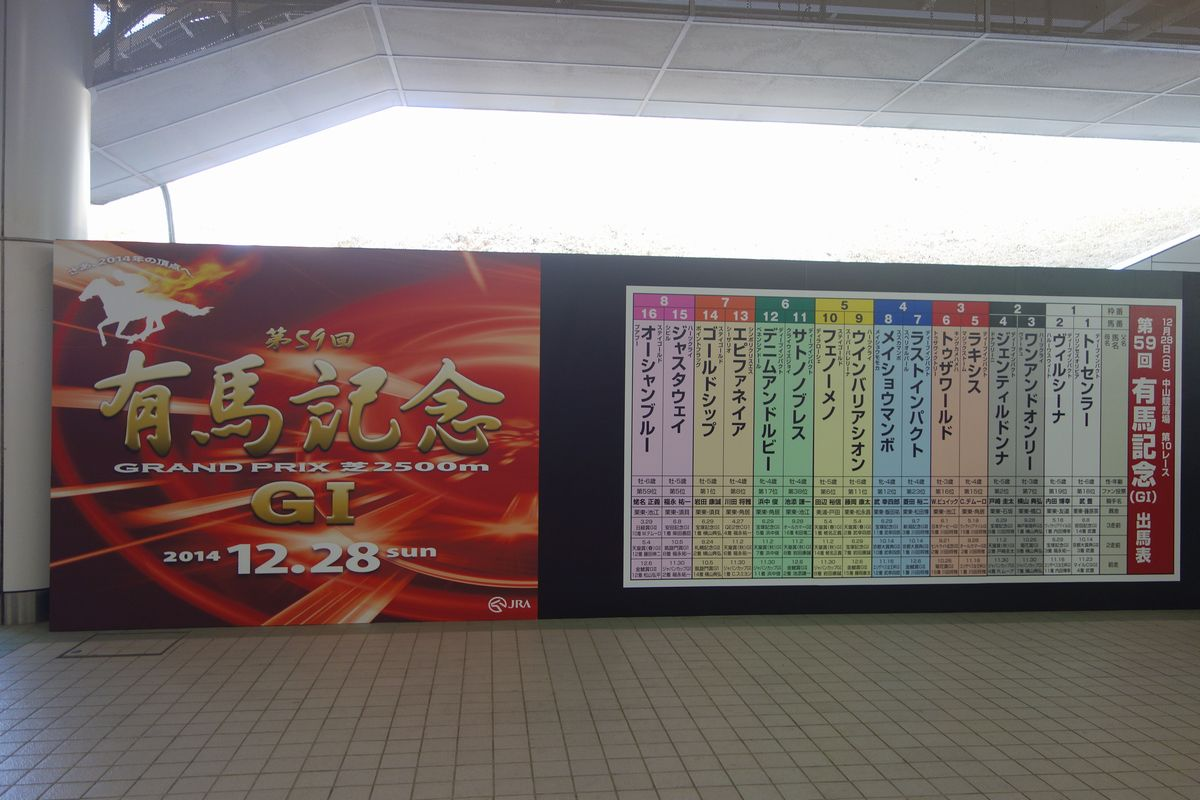 有馬記念2014-3